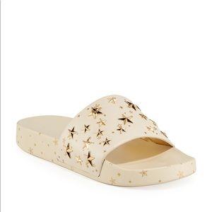 TORY BURCH Brand New star slide sandals slides